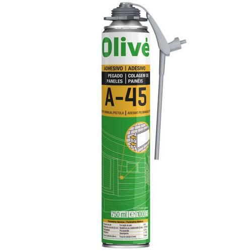 ADHESIVO OLIVE A45 MANUAL PISTOLA 750ML