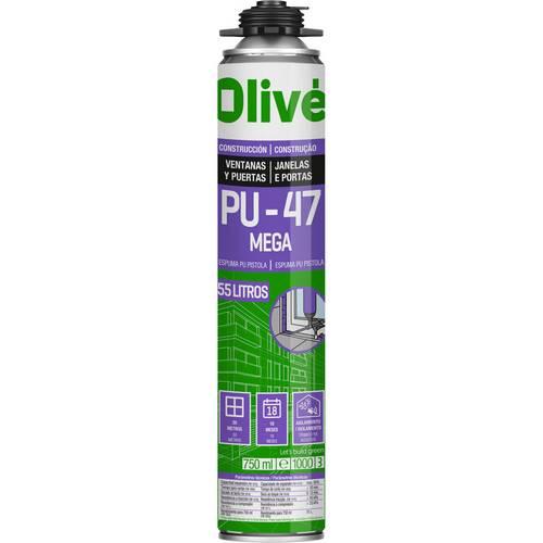 ESPUMA OLIVE PU47 ES-PT S750ML