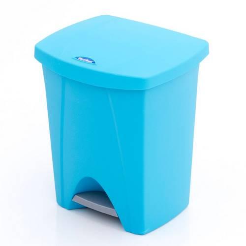 CUBO PEDAL PLASTIK NATURE 25L AZUL 6425-012056