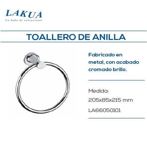 TOALLERO ARO LAKUA LA66 LAT CROMO