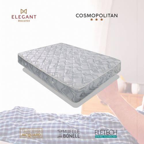 COLCHON ELEG COSMOPOLITAN 90X200