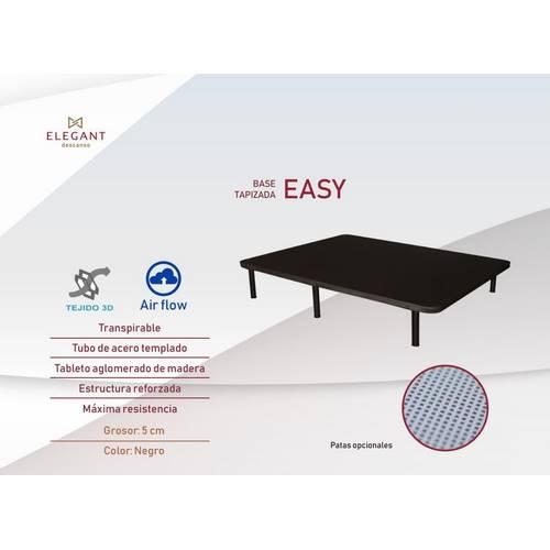 BASE TAPIZADA ELEGANT EASY 135X190 3D AIR